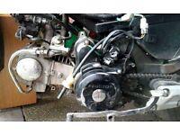 Pitbike engine 110cc semi