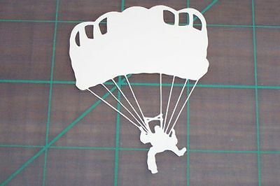 Skydiver Decal Sticker Skydiving Skydive 4.5""