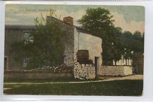 w14d50-341-Old-Houses-KETTLEWELL-Skipton-c1910-Postally-Unused-G-VG
