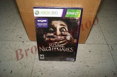 Rise Of Nightmares Xbox 360 Kinect Game Ntsc Version