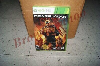 Gears Of War Judgment + Gears Of War 3 + Original Gears Of War Xbox 360 3 Games