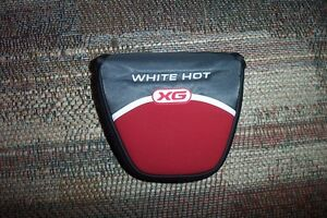 BRAND NEW Odyssey White Hot XG Mallet  2 ball Putter Cover
