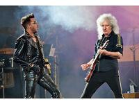 Queen and Adam Lambert @ The o2 Wed 13th December - Standing Tickets