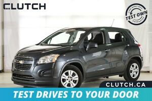 2016 Chevrolet Trax LS $54 Weekly OAC