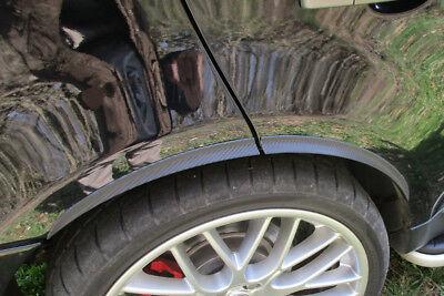 2x Carbono Opt Paso de Rueda Ampliación 71cm Para Renault Clio II...