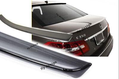 Mercedes W212 Limo Heckspoilerlippe SCHWARZ GLANZ Abrisskannte neu Spoiler flap