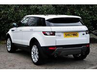 Land Rover Range Rover Evoque SD4 PURE (white) 2012-11-16