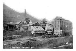 pt0451 - Six Bells Lancaster Pit Colliery , Monmouthshire , Wales - photo 6x4