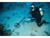 Services of a Scuba Diver required. Preferably with underwater metal detector.
