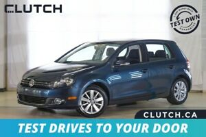 2013 Volkswagen Golf Comfortline $65 Weekly OAC