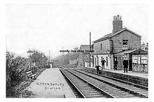 pt1755 upper batley railway station yorkshire. Black Bedroom Furniture Sets. Home Design Ideas