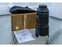 Nikon AF-S VR Micro 105mm lens f2.8G IF-ED VR (macro lens)