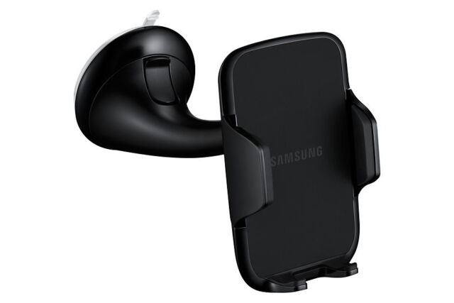 Genuine Samsung Car Cradle Mount Holder Windscreen S6 Note 4/3 S5 S4 S3 EE-V200S