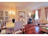 HYDE PARK. Elegant and spacious 3 bedroom apartment with internet. Available now. Close to tube