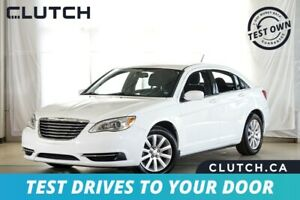 2014 Chrysler 200 LX Finance for $53 Weekly OAC