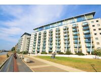 AVAILABLE NOW RIVERSIDE 1 BEDROOM APARTMENT OFFERED FURNISHED WITH CONCIERGE AND GYM E14