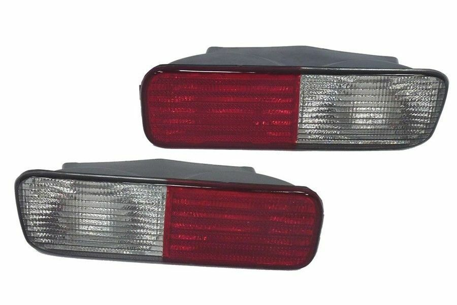 XFB000720 /& XFB000730 Bearmach Rear Bumper Lights for Land Rover Discovery 2
