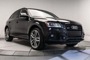 2015 Audi SQ5 TECHNIC QUATTRO CUIR TOIT NAV BTH MAGS