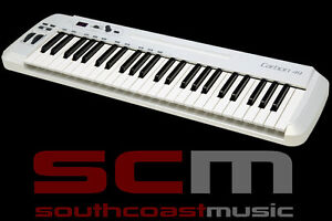 49 KEY SAMSON CARBON USB / MIDI KEYBOARD CONTROLLER w IPAD SLOT & SOFTWARE NEW