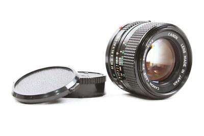 Used Near Mint Canon New FD 50mm f/1.4 Prime Lens