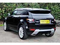 Land Rover Range Rover Evoque SD4 DYNAMIC (black) 2014-01-09