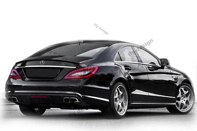 218 c w218 Mercedes Benz cls Autospoiler OBSIDIANSCHWARZ SCWHWARZ lippe Tuning