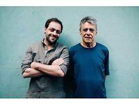 2 tickets for Antonio Zambujo sings Chico Buarque at Cadogan Hall in London