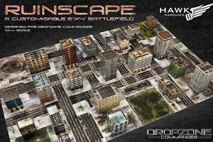 Hawk Wargames Dropzone Commander BNIB - Ruined CityScape