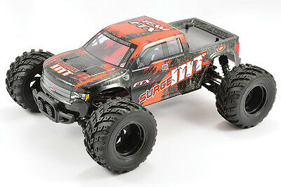 FTX Surge RTR 1/12th Scale 4WD Electric Monster Truck - Orange