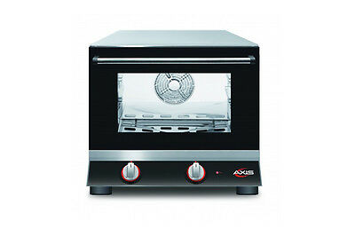 Axis Ax-413 Commercial 14 Quarter-size Electric Convection Oven Made In Italy