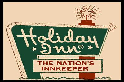 Holiday Inn Then Nations Inkeeper Fridge Magnet