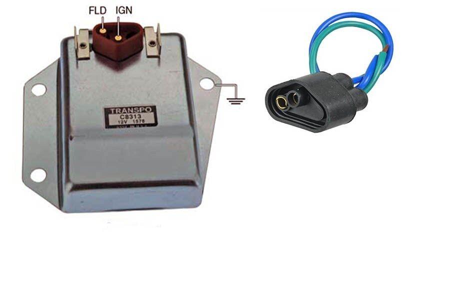 External Voltage Regulator : New hd external voltage regulator kit with harness