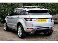 Land Rover Range Rover Evoque SD4 DYNAMIC (silver) 2014-03-21