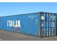 40ft x 8ft USED Blue Container - Storage/ShippingContainer