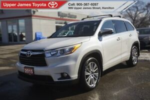 2015 Toyota Highlander XLE XLE AWD TRADE-IN