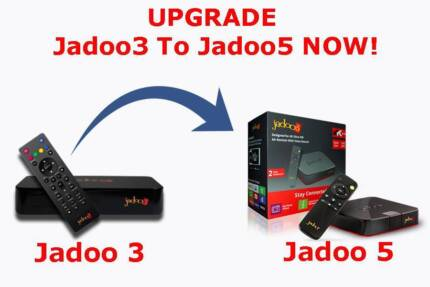UPGRADE Jadoo3 to Jadoo5 & Get FREE Jadoo4 Stick Limited Offer!!!