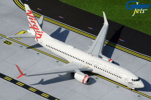 GEMINI200 (G2VOZ496) VIRGIN AUSTRALIA 737-800S 1:200 SCALE DIECAST METAL MODEL