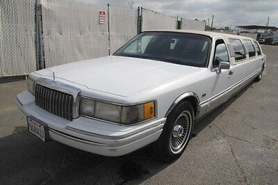 1991 Lincoln Town Car Executive 1991 Lincoln Town Car Executive Limousine Automatic 8 Cylinder NO RESERVE