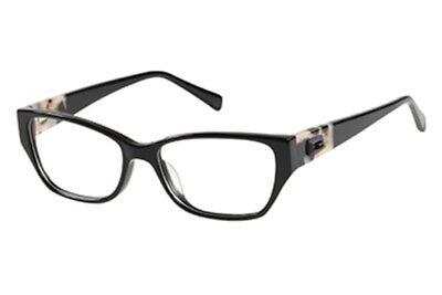 NEW ORIGINAL GUESS GU 2408 BLK Black Women's Eyeglasses 52mm 16 140