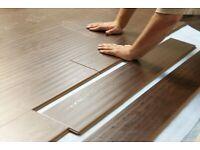 Carpet, laminate floorings, LVT and Vinyls flooring fitting