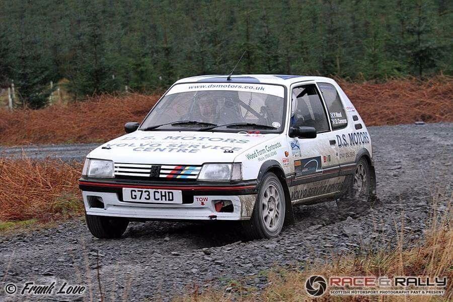 Peugeot 205 gti rally car | in Old Kilpatrick, Glasgow | Gumtree