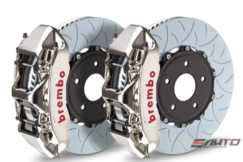 Brembo Front Gt Big Brake 6pot Caliper Gt-r 380x32 Type3 Disc Camaro V6 10-14