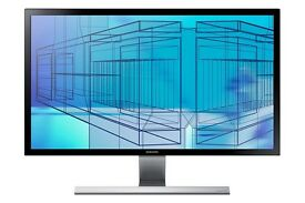 "Samsung 28"" monitor UHD"