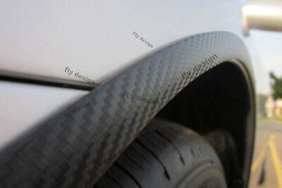 MB CL203 W203 Sport Coupe x2 Radlauf Verbreiterung CARBON opt Kotflügel leiste