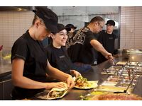 Full Time and Part Time Restaurant Staff needed for Chipotle Mexican Grill! IMMEDIATE START!