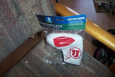 BRAND NEW Utah Utes college BLADE PUTTER COVER <fits odyssey ping (College Putter Cover)
