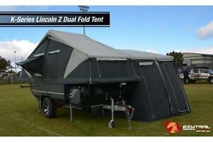 *SALE PRICE* PMX Camper Trailer: Lincoln Z Dual Hard Floor camper