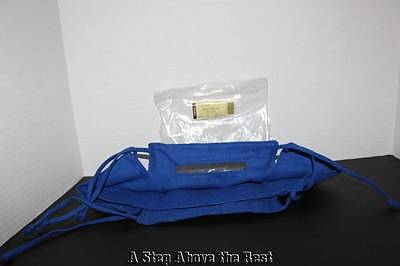 - Longaberger Small SQUARE Serving Basket Liner in Bright Cornflower #23676294 NEW