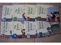 HISTORY OF BRITAIN BOOKS x 8 PB ASSORTED TITLES--KEY STAGES 2+3