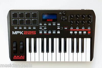 Akai MPK225 25-Key USB MIDI Keyboard & Pad Controller NEW